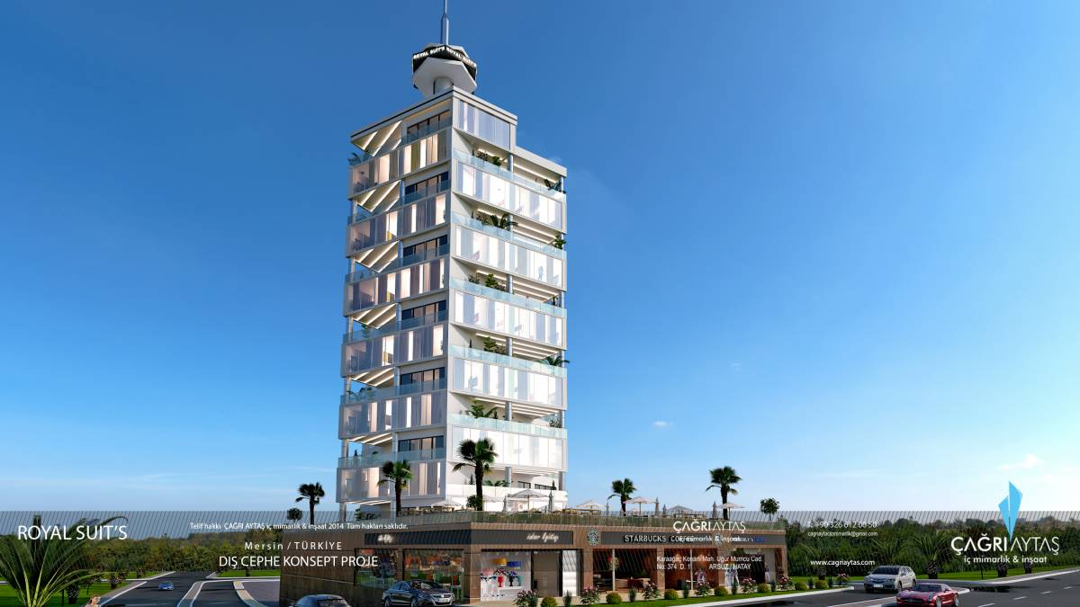 Çağrı Aytaş - Interior Architect - İskenderun royal suits 3