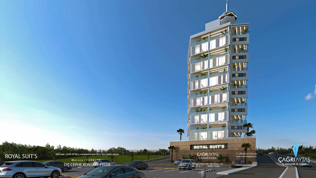 Çağrı Aytaş - Interior Architect - İskenderun royal suits