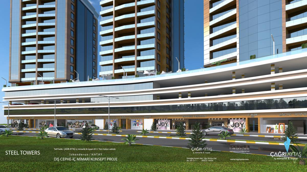 Çağrı Aytaş - Interior Architect - İskenderun steel towers